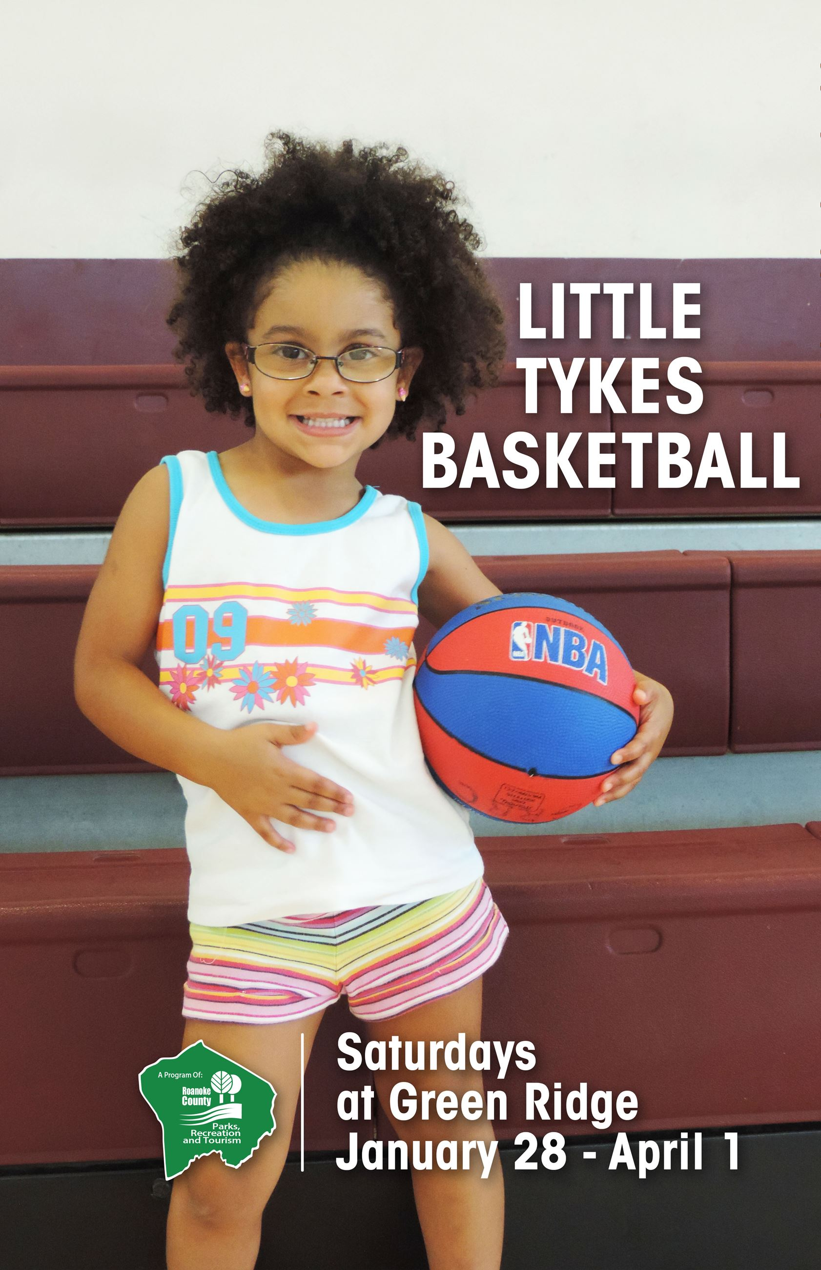 Little Tykes Basketball 11x17