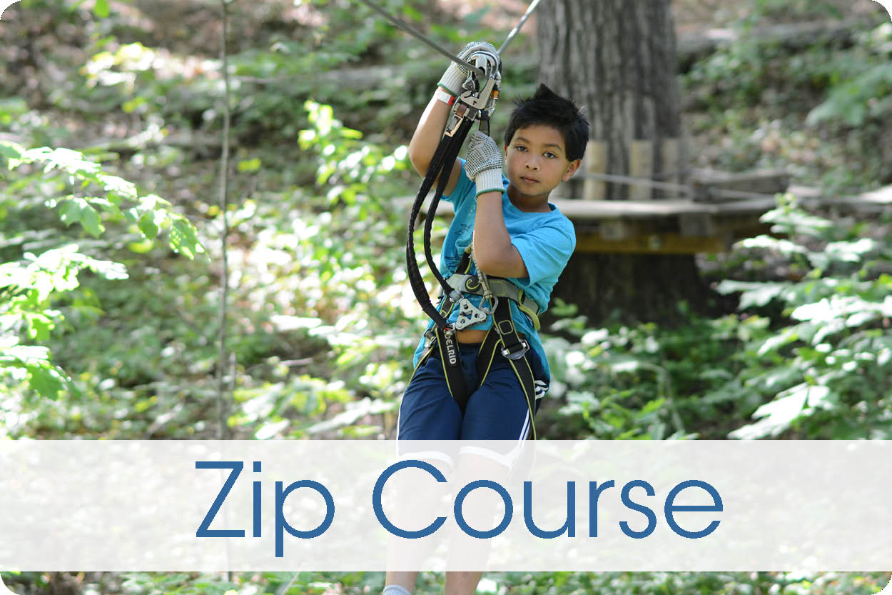 Zip Course Button